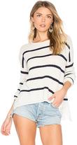 Velvet by Graham & Spencer Cashmere Blend Apolla Sweater in White