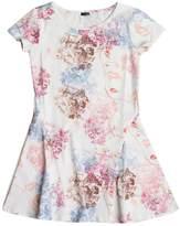 GUESS Short-Sleeve Floral Dress (7-16)