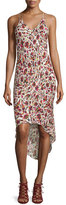 Haute Hippie High-Low Printed Camisole Dress, Mexican Blanket