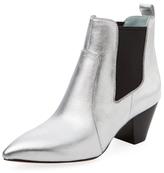 Marc Jacobs Kim Metallic Leather Chelsea Boot