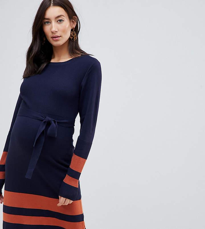 f36a9df068a Maternity Knit Dress - ShopStyle