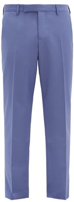 Paul Smith Soho-fit Wool-blend Fresco Suit Trousers - Light Purple