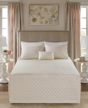 Madison Home USA Breanna 4-Pc. Full/Queen Quilted Bedspread Set