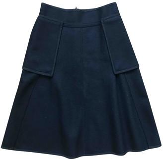 Ohne Titel Black Wool Skirt for Women