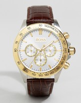 BOSS 1513174 Brown Chronograph Leather Watch