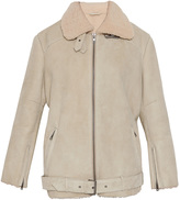 Paul & Joe 11 Shearling LS Flying Coat