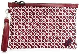 Dolce & Gabbana Mania print clutch