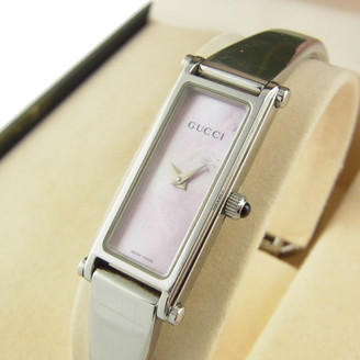 Gucci Horsebit Silver Silver Watches