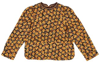 Caramel Floral Osprey Blouse (3-6 Years)
