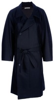 Christophe Lemaire double breasted coat