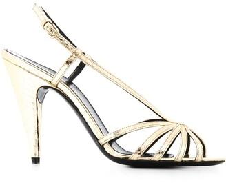 Saint Laurent Strappy Slingback Sandals