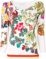 Etro floral pattern sweater