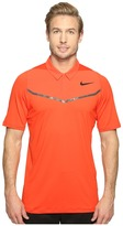 Tiger Woods Golf Apparel by Nike Nike Golf Velocity Max Blocked Polo Men's Short Sleeve Pullover