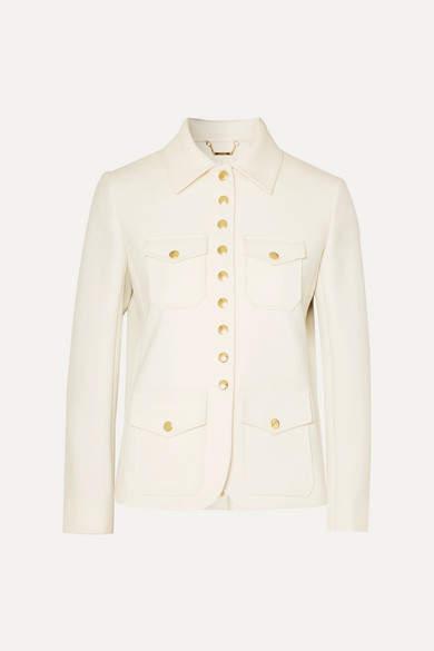 5f0971df Twill Jacket - White