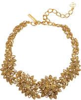 Oscar de la Renta Millegrain Petal Necklace