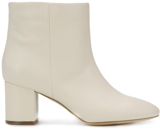 Twin-Set Leather Ankle Boots