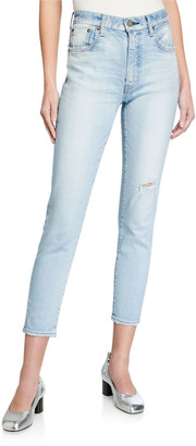 Moussy Hillrose Skinny High-Rise Jeans
