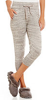 UGG Imogen Sweater-Knit Cropped Jogger Pants