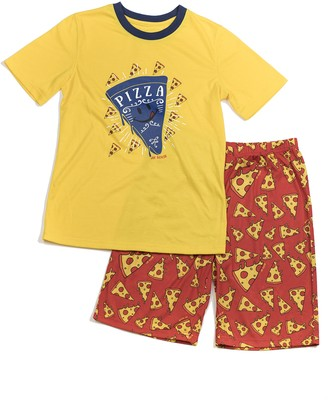 Joe Boxer Big Boy's Pizza PJ Set Sleepwear