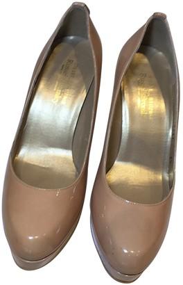 Stuart Weitzman Beige Patent leather Heels