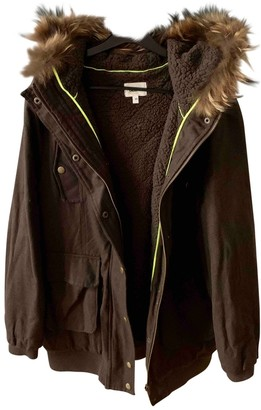Bel Air Khaki Wool Coats