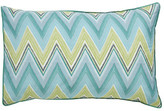Harlequin Groove Green Standar Pillowcases (Pair)