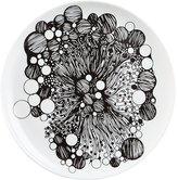 CB2 Belay Black-White Salad Plate