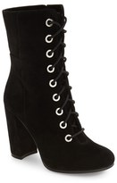 Vince Camuto Women's Teisha Lace-Up Zip Bootie