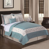 Asstd National Brand Constance Sea Breeze 5-pc. Embroidered Quilt Set