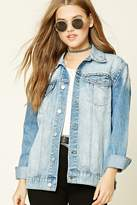 Forever 21 FOREVER 21+ Studded Denim Jacket