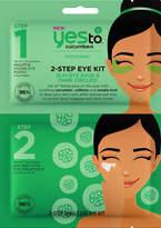 Yes to Cucumbers 2-Step Eye Kit Buh-Bye Basgs & Dark Circles!