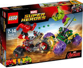 Lego Marvel superheroes Hulk vs. Red Hulk