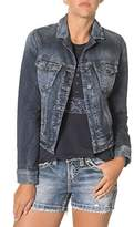 Silver Jeans Women's Long Sleeve Joga Denim Jacket