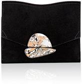 Proenza Schouler Women's Curl Small Clutch-BLACK