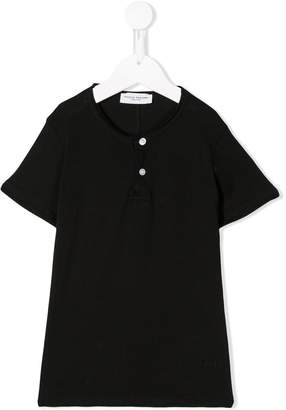 Paolo Pecora Kids buttoned collar T-shirt