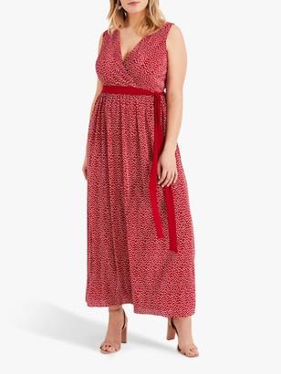 Studio 8 Faye Plisse Dress, Red