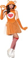 Leg Avenue Junior's Care Bears 2 Piece Tenderheart Bear Costume
