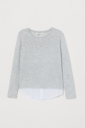 H&M Fine-knit Sweater - Gray