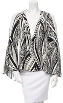 Just Cavalli Printed Silk Blouse w/ Tags