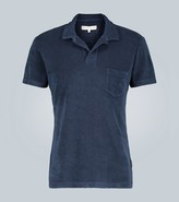 Orlebar Brown Terry toweling cotton polo