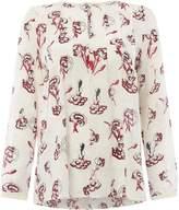 Marella Edro ballerina print blouse