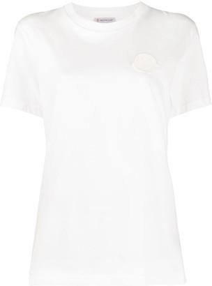 Moncler logo patch cotton T-shirt