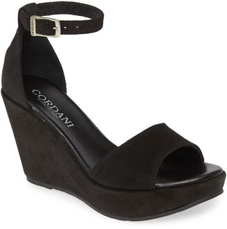 Cordani Cork Wedge Sandal