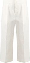 Marni Low-slung wide-leg cropped jeans