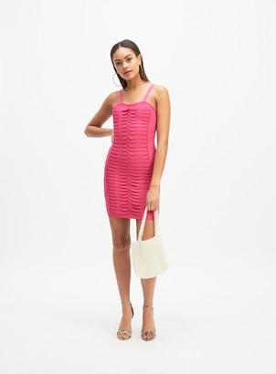 Miss Selfridge OH MY DAYS Pink Bodycon Dress