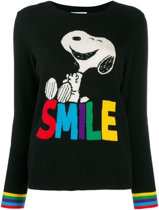 Chinti and Parker Smile print jumper