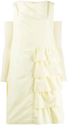 Sueundercover Ruffled Detail Dress
