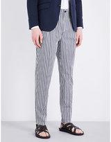 Etro Stripe-print cotton trousers