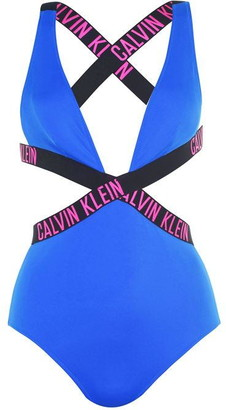 Calvin Klein Intense Power Plunge Swimsuit