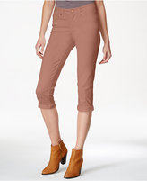 American Rag Cropped Cuffed Colored Skinny Jeans, Only at Macy's